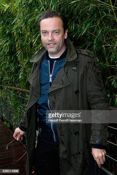 Actor Patrick Mille attends Day Ten of the 2016 French Tennis Open at Roland Garros on May 31 2016 in Paris France