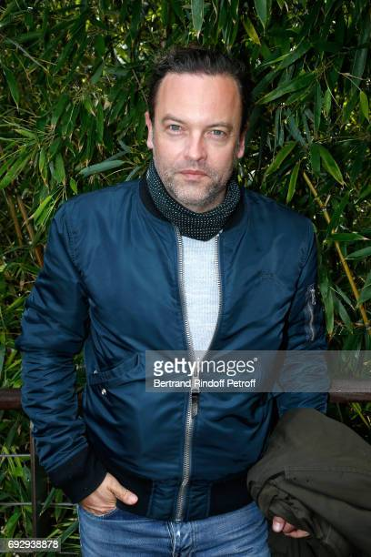 ACtor Patrick Mille attends the 2017 French Tennis Open Day Ten at Roland Garros on June 6 2017 in Paris France