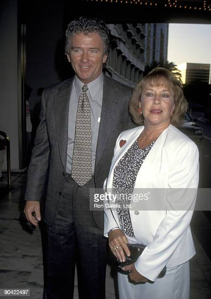 Actor Patrick Patrick Duffy and wife Carlyn Rosser attend the ABC Affiliates Party on June 8 1995 at Century Plaza Hotel in Los Angeles California