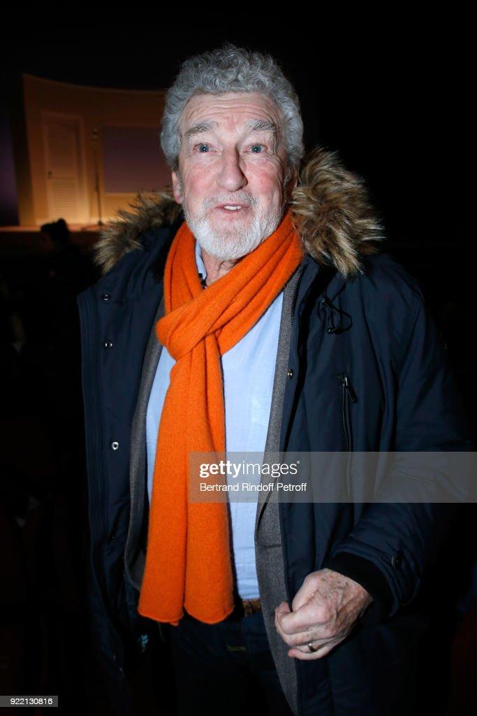 'Le Prix Du Brigadier 2017' Award At Theatre Montparnasse In Paris : News Photo