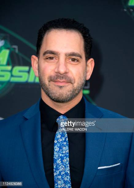 Actor Patrick Sabongui attends the world premiere of Disney channel original movie 'Kim Possible' in North Hollywood California on February 12 2019