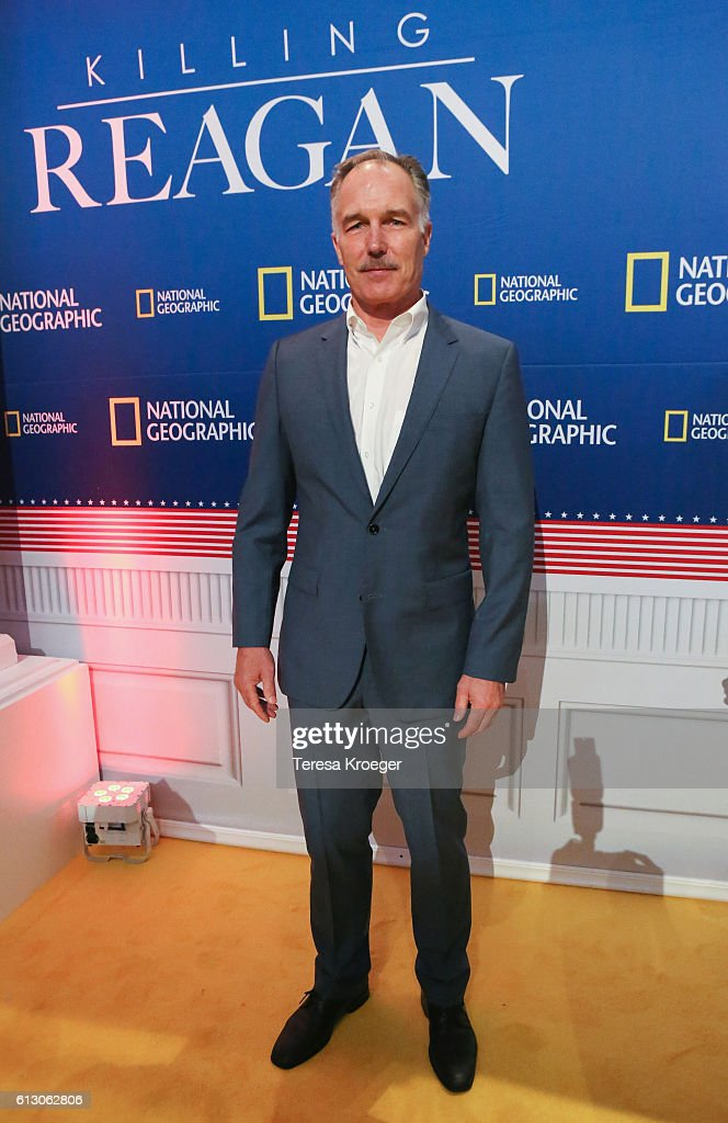 Actor Patrick St. Esprit attends the 'Killing Reagan' Washington DC premiere at The Newseum on October 6, 2016 in Washington, DC.