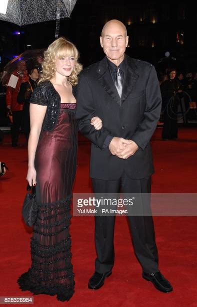 Actor Patrick Stewart and wife Lisa Dillon arrive