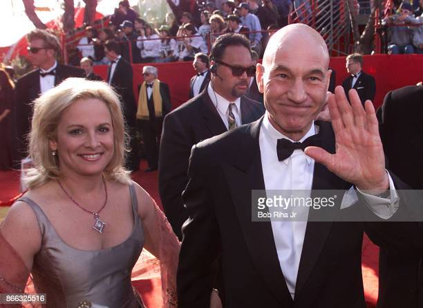 Actor Patrick Stewart at the 71st Annual Academy Awards March 211999 In Los Angeles California