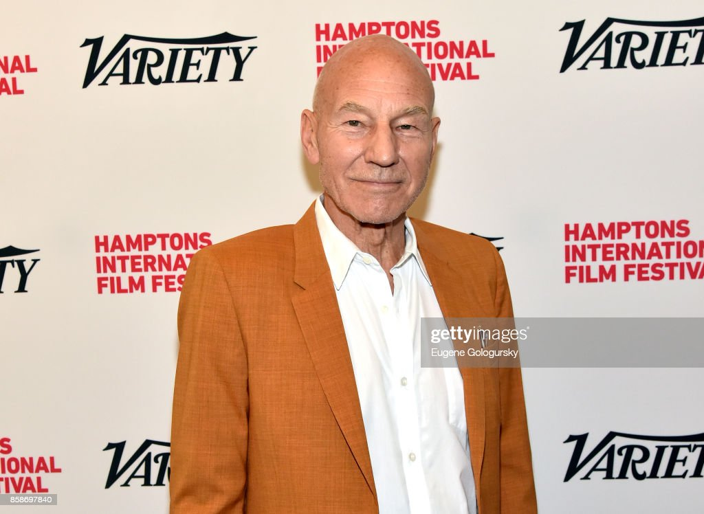 Actor Patrick Stewart attends the red carpet for Variety's 10 Actors To Watch photo call at Nick & Toni's during Hamptons International Film Festival 2017 - Day Three on October 7, 2017 in East Hampton, New York.