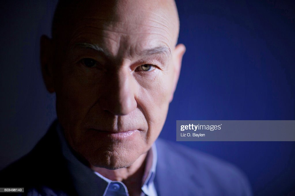 Actor Patrick Stewart is photographed for Los Angeles Times on December 16, 2015 in Los Angeles, California. PUBLISHED IMAGE.