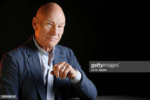 Actor Patrick Stewart is photographed for Los Angeles Times on December 16 2015 in Los Angeles California PUBLISHED IMAGE CREDIT MUST READ Liz O...