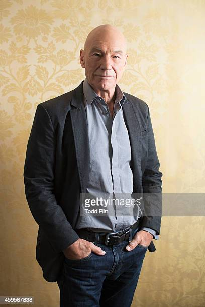 Actor Patrick Stewart is photographed for USA Today on May 10, 2014 in New York City.