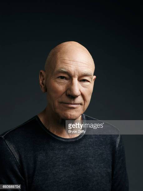 Actor Patrick Stewart is photographed for Variety on April 7 in Los Angeles, California.