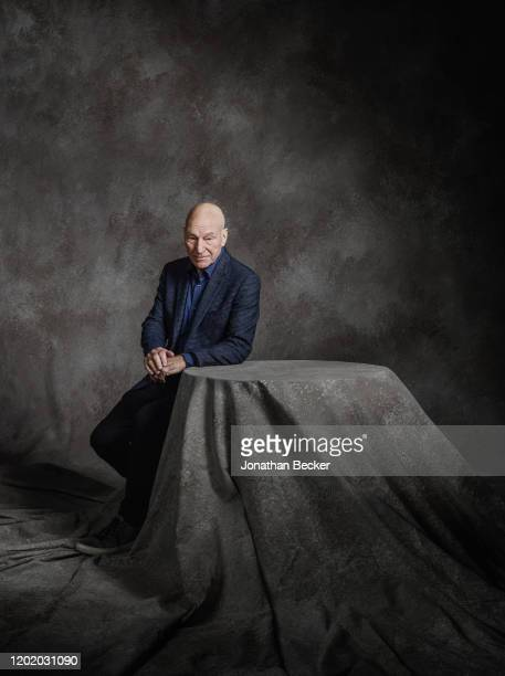 Actor Patrick Stewart poses for a portrait at the Savannah Film Festival on October 29, 2017 at Savannah College of Art and Design in Savannah,...