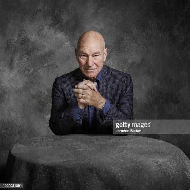 Actor Patrick Stewart poses for a portrait at the Savannah Film Festival on October 29 2017 at Savannah College of Art and Design in Savannah Georgia