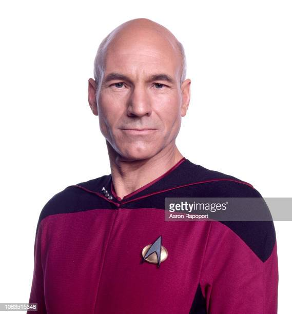 Actor Patrick Stewart poses for a portrait in October 1987 in Los Angeles, California.