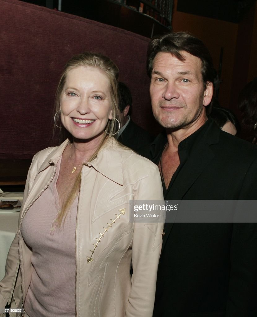 Actor Patrick Swayze (R) and his wife Lisa Niemi arrive at the afterparty for the premiere of Touchstone Pictures' 'Dan in Real Life' at the Highlands on October 24, 2007 in Los Angeles, California.