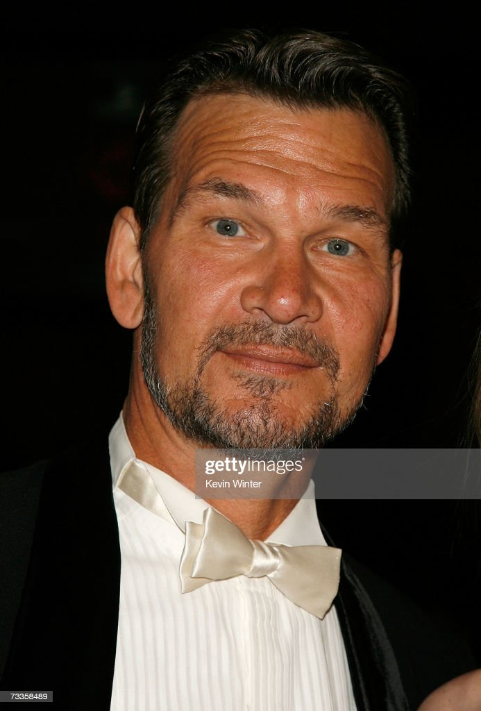 ACCESS* Actor Patrick Swayze is seen in the audience during the 9th annual Costume Designers Guild Awards held at the Beverly Wilshire Hotel on February 17, 2007 in Beverly Hills, California.