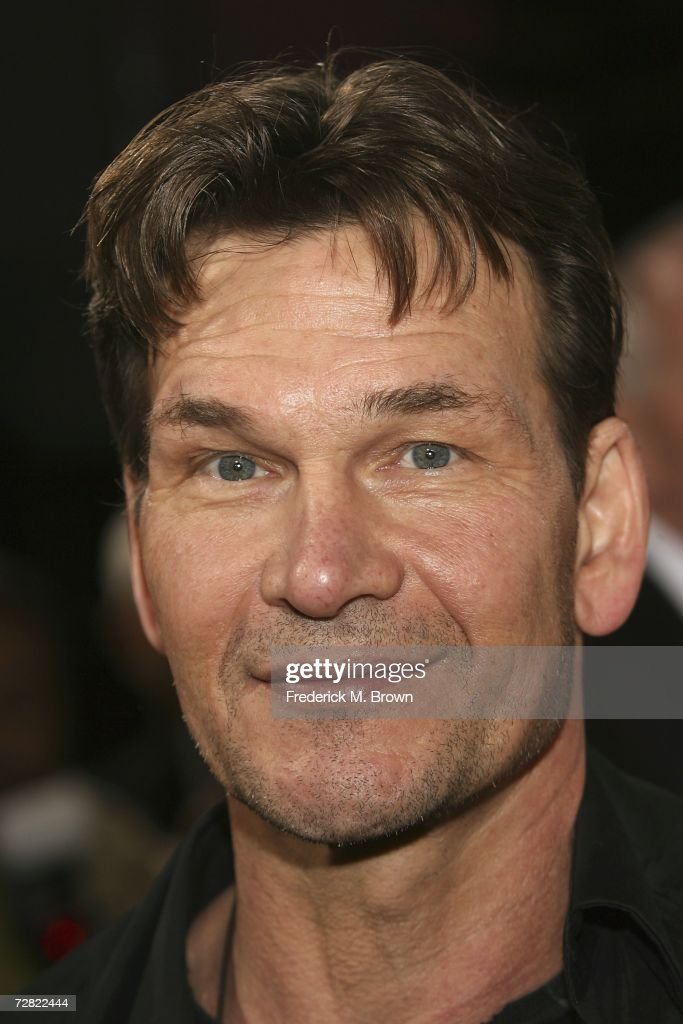 Actor Patrick Swayzie attends the world premiere of 'Rocky Balboa' at Grauman's Chinese Theater on December 13, 2006 in Hollywood, California.