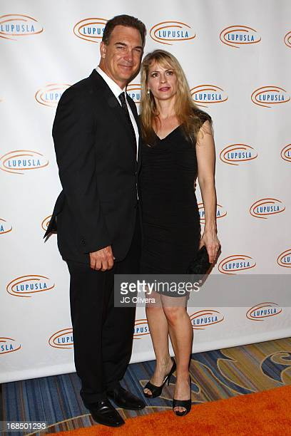 Actor Patrick Warburton and wife Cathy Jennings attend Lupus LA 13th Annual Orange Ball Gala at Regent Beverly Wilshire Hotel on May 9 2013 in...