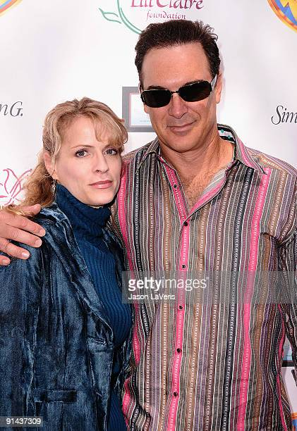 Actor Patrick Warburton and wife Cathy Jennings attend the 12th annual Lili Claire Foundation benefit luncheon on October 4 2009 in Brentwood...