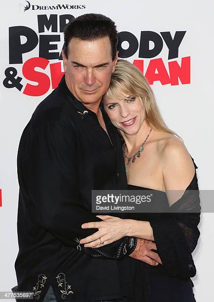 Actor Patrick Warburton and wife Cathy Jennings attend the premiere of Twentieth Century Fox and DreamWorks Animation's Mr Peabody Sherman at the...