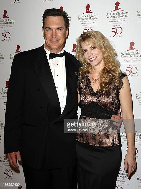 Actor Patrick Warburton and wife Cathy Jennings attend the St Jude Children's Research Hospital 50th anniversary gala at The Beverly Hilton hotel on...