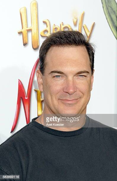 Actor Patrick Warburton arrives at the Los Angeles premiere of the movie 'Happily N'Ever After' at Mann's Festival Theater in Westwood
