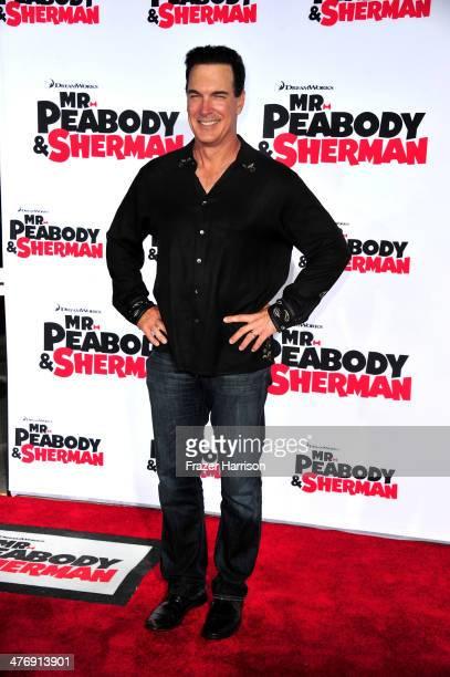 "Actor Patrick Warburton arrives at the Premiere of Twentieth Century Fox and DreamWorks Animation's ""Mr. Peabody & Sherman"" at Regency Village..."
