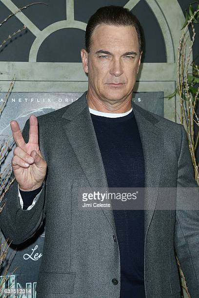 Actor Patrick Warburton attends NETFLIX Presents the World Premiere of Lemony Snicket's 'A Series of Unfortunate Events' at AMC Lincoln Square...