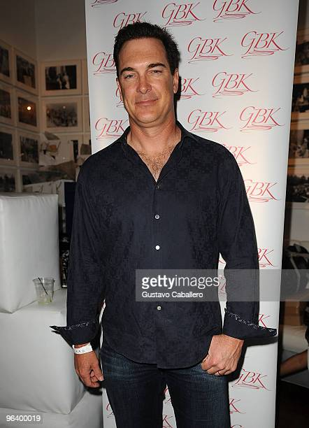 Actor Patrick Warburton attends the GBK Gift Lounge at Player's Press PreSuper Bowl Party at Sagamore Hotel on February 3 2010 in Miami Beach Florida