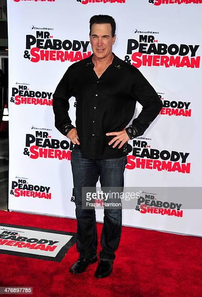 Actor Patrick Warburton attends the premiere of Twentieth Century Fox and DreamWorks Animation's Mr Peabody Sherman at Regency Village Theatre on...