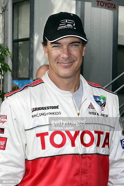 Actor Patrick Warburton attends the Toyota Grand Prix Pro / Celebrity Race Day on April 17 2010 in Long Beach California
