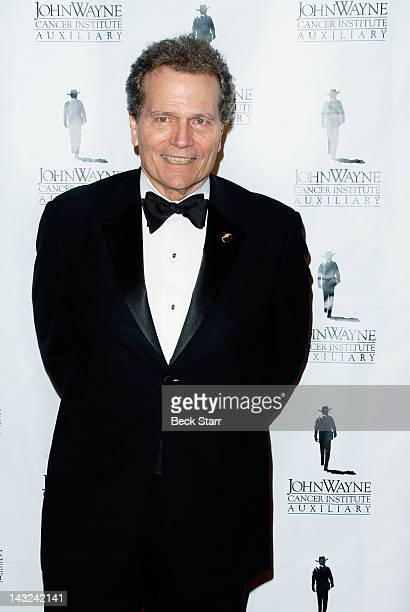 Actor Patrick Wayne arrives at John Wayne Cancer Institute's 27th Annual Odyssey Ball at The Beverly Hilton Hotel on April 21 2012 in Beverly Hills...