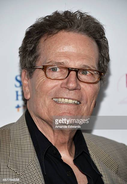 Actor Patrick Wayne arrives at the 2014 Power Of Pink An Acoustic Evening With Pnk And Friends event at The House of Blues Sunset Strip on October 23...