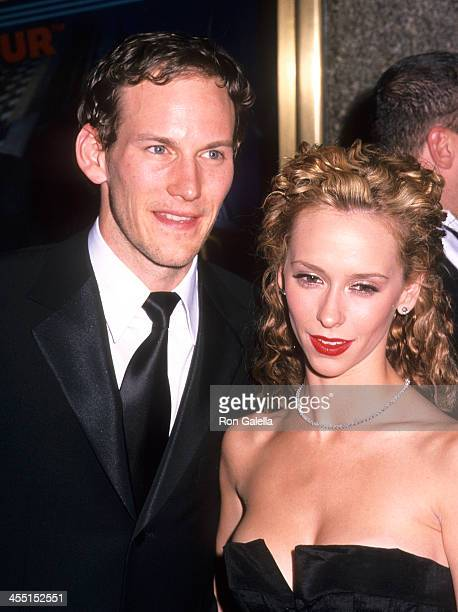 Actor Patrick Wilson and actress Jennifer Love Hewitt attend the 55th Annual Tony Awards on June 30 2001 at the Radio City Music Hall in New York City