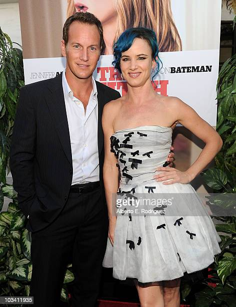 Actor Patrick Wilson and actress Juliette Lewis arrive at the premiere of Miramax's The Switch held at Arclight Hollywood at the Cinerama Dome on...
