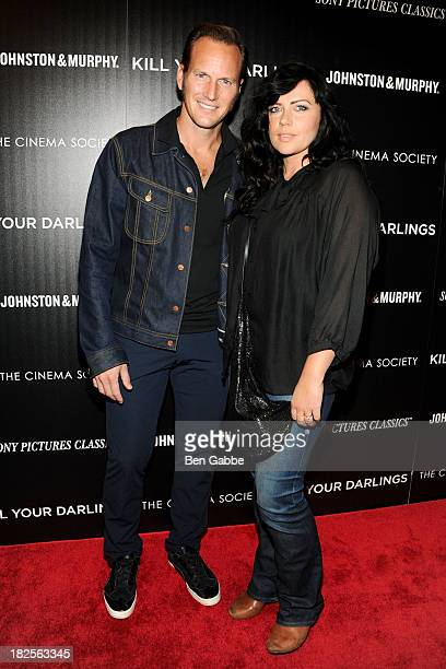 Actor Patrick Wilson and wife actress Dagmara Dominczyk attend The Cinema Society and Johnston & Murphy host a screening of Sony Pictures Classics'...