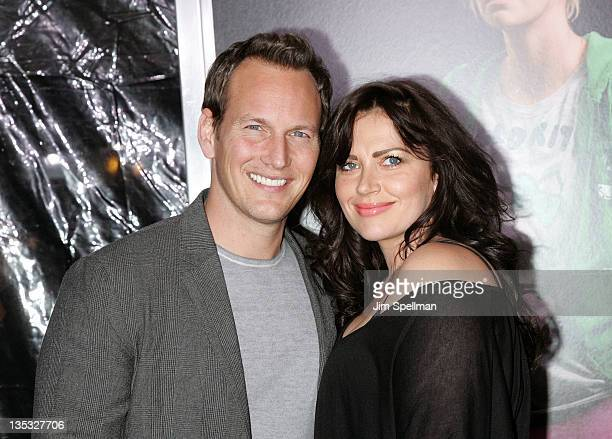 Actor Patrick Wilson and wife Dagmara Dominczyk attend the 'Young Adult' world premiere at the Ziegfeld Theatre on December 8 2011 in New York City