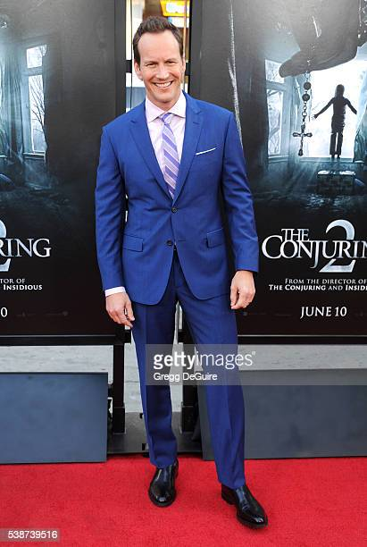 Actor Patrick Wilson arrives at the 2016 Los Angeles Film Festival The Conjuring 2 Premiere at TCL Chinese Theatre IMAX on June 7 2016 in Hollywood...