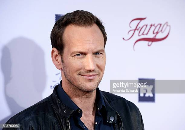 Actor Patrick Wilson arrives at the For Your Consideration event for FX's 'Fargo' at Paramount Pictures on April 28 2016 in Los Angeles California