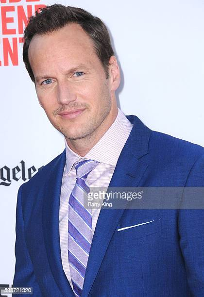 Actor Patrick Wilson attends 2016 Los Angeles Film Festival 'The Conjuring 2' premiere at TCL Chinese Theatre IMAX on June 7 2016 in Hollywood...