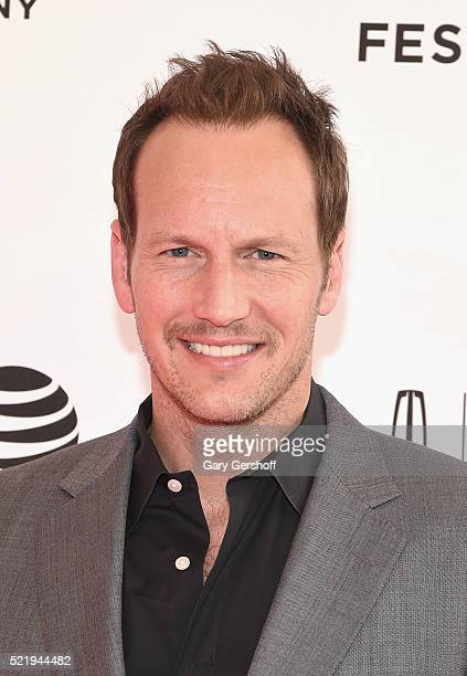 Actor Patrick Wilson attends 'A Kind of Murder' premiere during 2016 Tribeca Film Festival at SVA Theatre on April 17 2016 in New York City