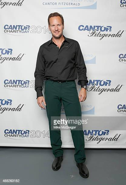Actor Patrick Wilson attends Annual Charity Day Hosted By Cantor Fitzgerald And BGC at Cantor Fitzgerald on September 11 2014 in New York City