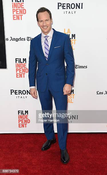 Actor Patrick Wilson attends the 2016 Los Angeles Film Festival The Conjuring 2 Premiere at TCL Chinese Theatre IMAX on June 7 2016 in Hollywood...
