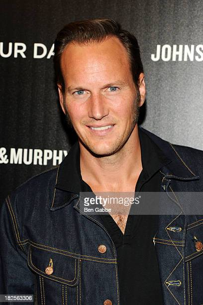 """Actor Patrick Wilson attends The Cinema Society and Johnston & Murphy host a screening of Sony Pictures Classics' """"Kill Your Darlings"""" at the Paris..."""