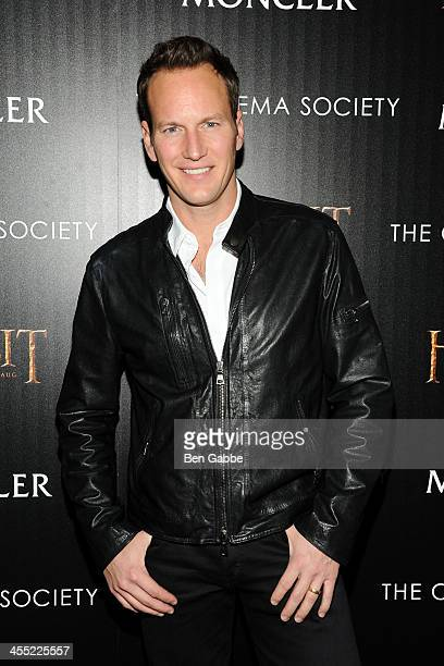 Actor Patrick Wilson attends The Cinema Society Moncler host a screening of New Line Cinema MGM Pictures' 'The Hobbit The Desolation of Smaug' at...