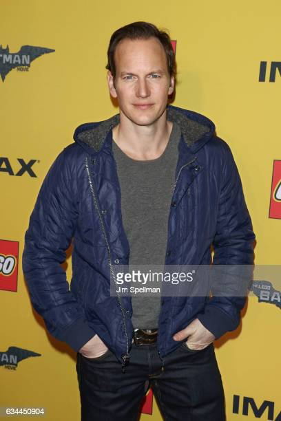 Actor Patrick Wilson attends 'The Lego Batman Movie' New York screening at AMC Loews Lincoln Square 13 on February 9 2017 in New York City