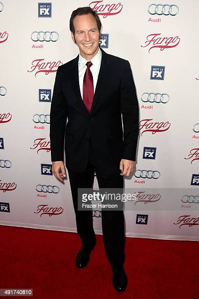Actor Patrick Wilson attends the premiere of FX's 'Fargo' Season 2 at ArcLight Cinemas on October 7 2015 in Hollywood California