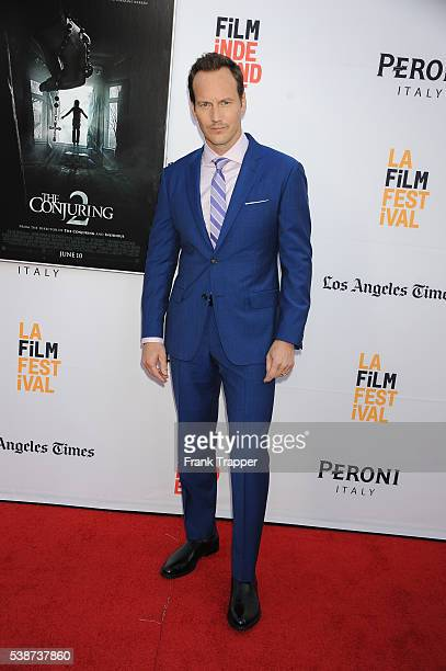 Actor Patrick Wilson attends the premiere of New Line Cinema's The Conjuring 2 during the 2016 Los Angeles Film Festival held at the TCL Chinese...