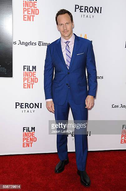 Actor Patrick Wilson attends the premiere of The Conjuring 2 at the 2016 Los Angeles Film Festival at TCL Chinese Theatre IMAX on June 7 2016 in...