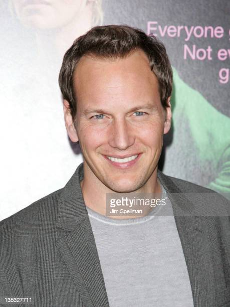 Actor Patrick Wilson attends the 'Young Adult' world premiere at the Ziegfeld Theatre on December 8 2011 in New York City