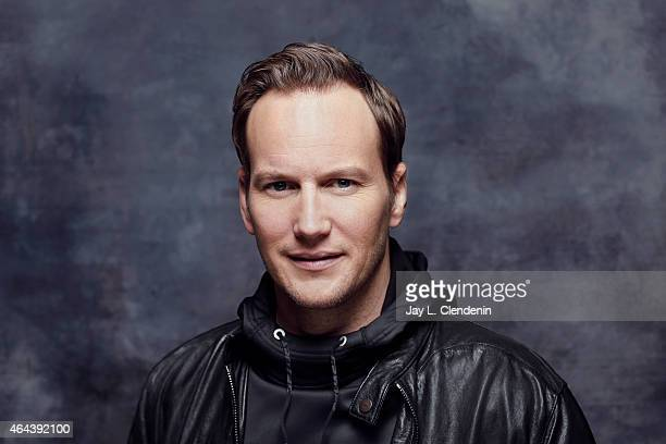 Actor Patrick Wilson is photographed for Los Angeles Times at the 2015 Sundance Film Festival on January 24 2015 in Park City Utah PUBLISHED IMAGE...
