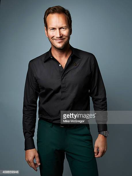 Actor Patrick Wilson is photographed Self Assignment on September 11 2014 in New York City